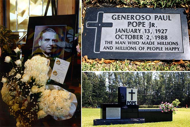 Last Words to Generoso Pope Jr from son Paul David Pope